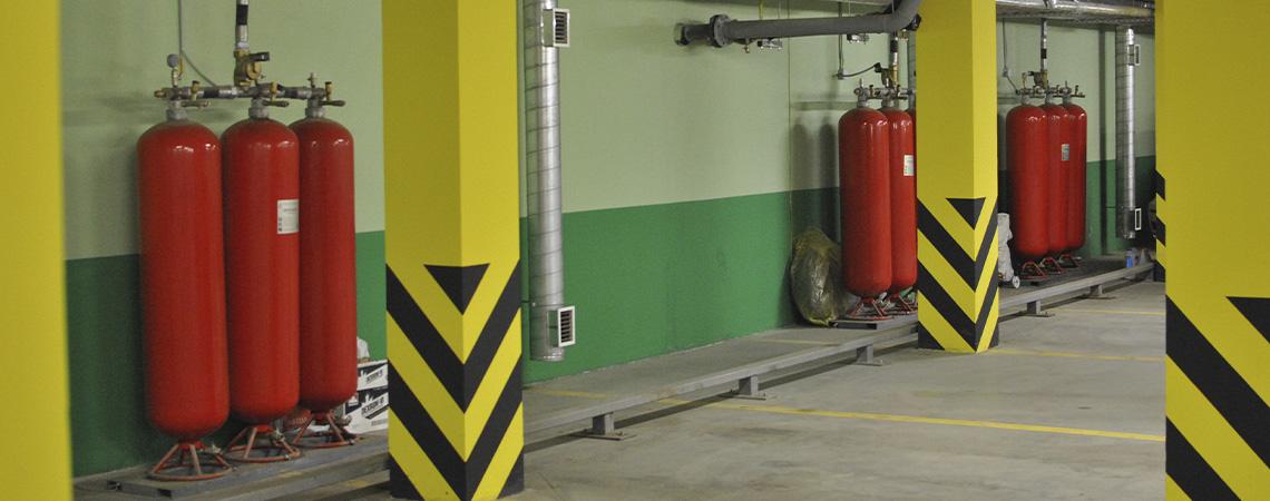 Система пожаротушения зданий и сооружений